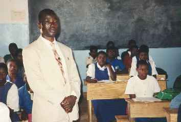 Mr. Jere at Embangweni Primary School