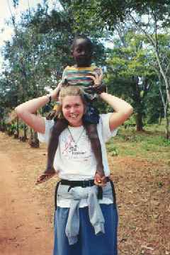 Jill and kid on her shoulders